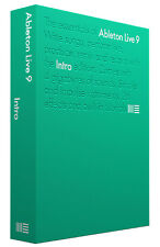 Ableton Live 9 Intro Music Production Software W/ Update to Version 10 in F