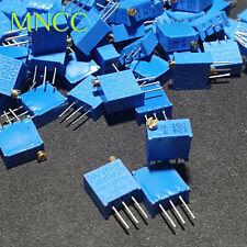 1~5pcs W103 10K Multiturn Trimpot Potentiometer Variable 25 Turn Resistor W3296