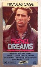 Rebel Dreams (Prev. Viewed VHS) Nicolas Cage VERY RARE HTF Never On DVD