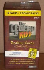 Kiss 2010 Legend Walmart Card Parallel Blaster Sealed Box Relics (2)