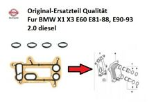 Elring Oil Filter Housing Element Seal Gasket Set - BMW E90 E60 E61 E87 E83 N47