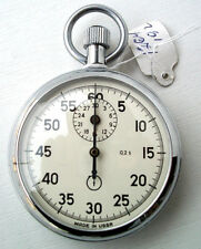 "Russian USSR Stopwatch ""Agat"" mechanical One-Button, NEW, Export version"
