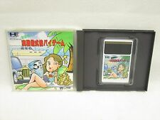 JISSEN KABUSHIKI BAI BAI Baibai GAME PC-Engine Hu Grafx Import Japan Game pe