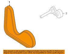 VW VOLKSWAGEN OEM 09-15 CC-Serpentine Drive Fan Belt 06J260849D