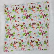 Aden Anais Zutano Butterfly Baby Blanket Swaddle Muslin Flower Ladybug B44