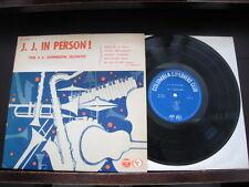 "J.J. Johnson In Person Japan 10 ich Vinyl LP Promo Copy 10"" 1961 Monk"