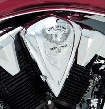 Honda VT 1300 Fury Stateline Interstate Sabre - Chrome LTR Air Cleaner Cover/Lid