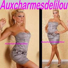 ROBE COURTE SEXY BUSTIER MARQUE REDIAL  T36  VETMENT FEMME NEUF ET SEXY
