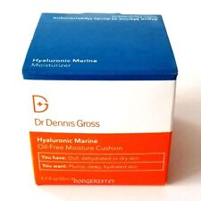 DR. DENNIS GROSS HYALURONIC MARINE OIL FREE MOISTURE CUSHION 1.7 OZ SIZE AMAZING