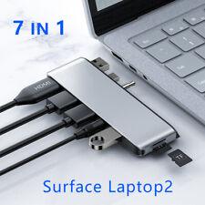 Docking Station HDMI 4K HD USB3.0/TF/Audio Port for Microsoft Surface Laptop2