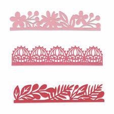 Sizzix Thinlits Die Set 3PK - Decorative Edges by Katelyn Lizardi 663618