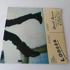 David Bowie - Lodger - Vinyl LP + Insert UK 1st Press A-2/B-1 EX+/EX