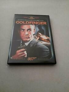 "DVD ""007 GOLDFINGER"" COMO NUEVA SEAN CONNERY EDICION ESPECIAL"