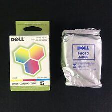 2PK Genuine Dell Series 5 J5567 J4844 Ink Cartridge for Dell 922 924 942 946 962