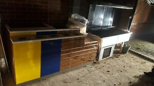 Handcrafted Formica Commercial Counter for any Retail / Food&Cafe / Leisure Shop