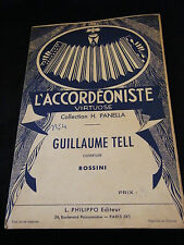 Partition Guillaume Tell H Panella