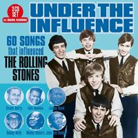 UNDER THE INFLUENCE: 60 SONGS THAT INFLUENCED THE ROLLING STONES  3 CD NEW!