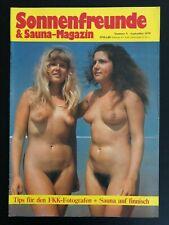 SONNENFREUNDE & Sauna-Magazin FKK September 1979