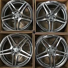 19 NEW AMG OEM CLS550 CL63 S550 SL 2010-17 MODEL MERCEDES RIMS WHEELS  SET 4