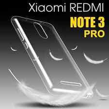 Coque Xiaomi Redmi Note 3 PRO Souple Gel Ultra Fine Housse Case TPU Transparent
