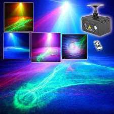 Mini RG Laser Aurora Projector Lights Mixed RGB LED Party DJ Show Stage Lighting