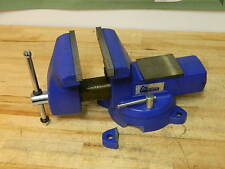 """Gibraltar Combination Pipe / Bench Vise w/ Swivel Base 8"""" Jaw Width"""