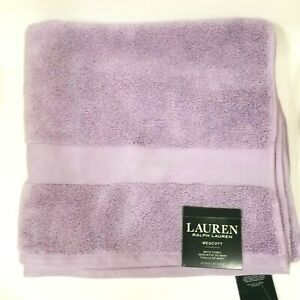 "NEW RALPH LAUREN WESCOTT DUCHESS LILAC,PURPLE,100% COTTON BATH TOWEL 30""x 56"""