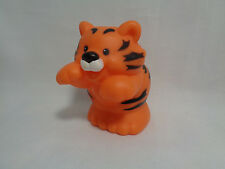 Fisher Price Mattel Little People 2001 Orange Tiger