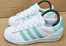 adidas superstar verdi in pelle