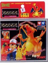 Auldey Tomy Pokemon P-01 CHARIZARD Snap Together Model Mini Figure 1998 NEW