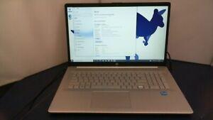 "HP - 17.3"" Laptop i3 3.0ghz 8GB Memory - 931gb ssd Win 10 Pro"