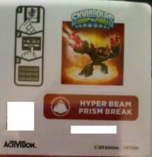 Hyper Beam Prism Break Skylanders Swap Force Sticker/Code Only!