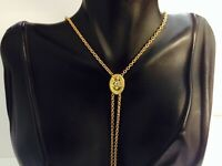 """Vintage,Gold Filled, Lariat Necklace,adjustable 24"""""""