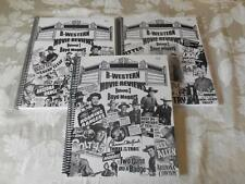 3 B-Western Movie Review Volume 1-3 Boyd Magers 2013,'14,'15 AUTOGRAPHED