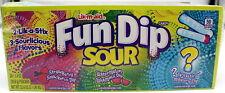Fun Dip Sour Candy 24 Pouches Lik-M-Aid Fundip Powder Sugar Bulk Candies