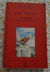 LO HOBBIT O LA RICONQUISTA DEL TESORO J.R.R.TOLKIEN ADELPHI 2002