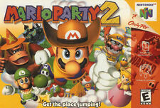 Mario Party 2 (Nintendo 64, 2000) n64 GAME ONLY NICE SHAPE WORKS WELL NES HQ