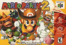 MARIO PARTY 2 N64 NINTENDO 64 GAME COSMETIC WEAR