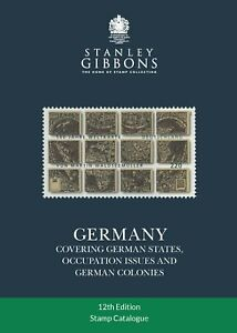 Stanley Gibbons Germany Catalogue - 12th Edition 424 pages - SAVE 10%