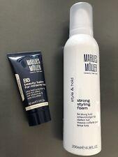 MARLIES MÖLLER Haarpflege-Set: strong styling foam 200ml + BB beauty balm - NEU!