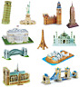 3D Famous Buildings Landmarks Architecture Replicas Models Jigsaw Puzzles Sets