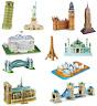 3D Famous Buildings Landmarks Architecture Replicas Models Jigsaw Puzzles Sets