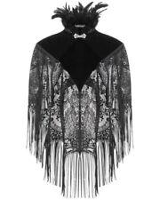 Cappotti e giacche da donna stile bolero e coprispalle nero con bottone