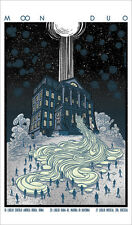 MOON DUO TOUR POSTER LIMITED EDITION SILVER SCREEN PRINT BY SABRINA GABRIELLI