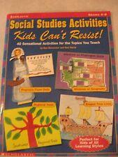 Teachers: Social Studies Activities Kids Can't Resist