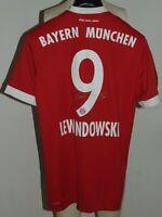 Soccer Jersey Trikot Maillot Camiseta Bayern Monaco Lewandowski 9 Size S SMALL