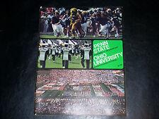 PENN STATE vs OHIO U November  17, 1973 Official Program College Football NCAA