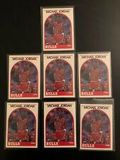1989 Hoops Michael Jordan Card #200 - LOT OF 7