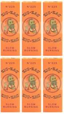 6x Zig Zag Orange 1 1/4 Rolling Papers *Best Price!* Fast USA Shipper