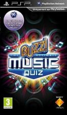 BUZZ! THE ULTIMATE MUSIC QUIZ PSP SONY PLAYSTATION PORTABLE NUOVO ITALIANO